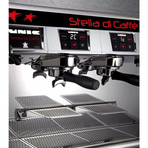 Image of Unic Espresso Machine Unic Stella Di Caffè 2 Group High Profile Commercial Espresso Machine
