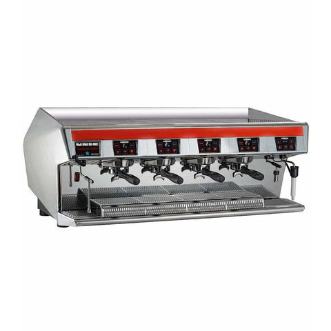 Unic Espresso Machine Unic Stella Di Caffè 4 Group High Profile Commercial Espresso Machine