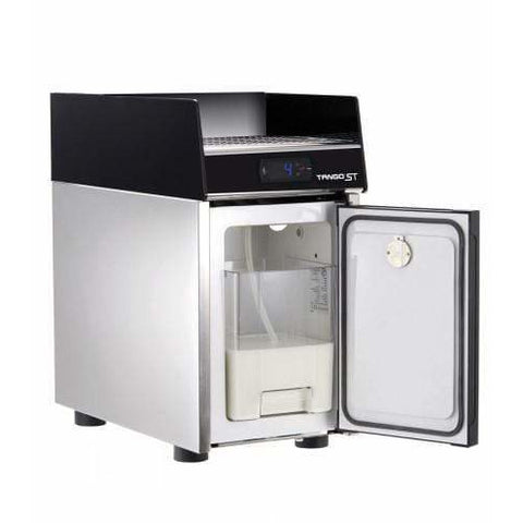 Image of Unic Espresso Machine Unic Tango Duo STP Fully Automatic Espresso Machine with Milk Pump Fridge