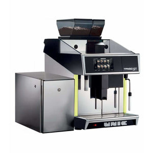 Unic Espresso Machine Unic Tango Solo STP Fully Automatic Espresso Machine with Milk Pump Fridge