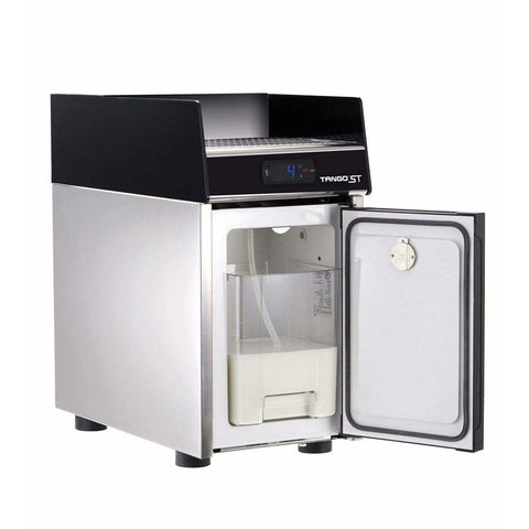 Image of Unic Espresso Machine Unic Tango Solo STP Fully Automatic Espresso Machine with Milk Pump Fridge