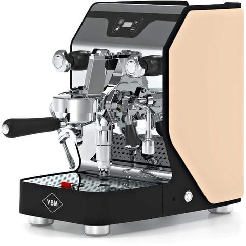 Image of VBM Espresso Machine Beige-Left Panel VBM Domobar Junior Digital 1 Group Semi-Automatic Home Espresso Machine