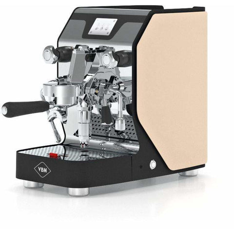 Image of VBM Espresso Machine Beige-Left Panel VBM Domobar Super Digital 1 Group Semi-Automatic Home Espresso Machine