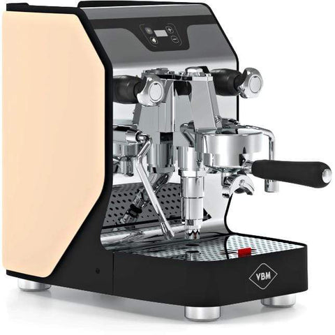 Image of VBM Espresso Machine Beige-Right Panel VBM Domobar Junior Digital 1 Group Semi-Automatic Home Espresso Machine