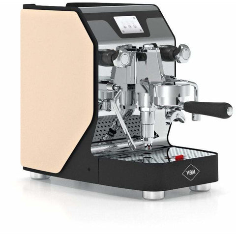 VBM Espresso Machine Beige-Right Panel VBM Domobar Super Analogic 1 Group Semi-Automatic Home Espresso Machine