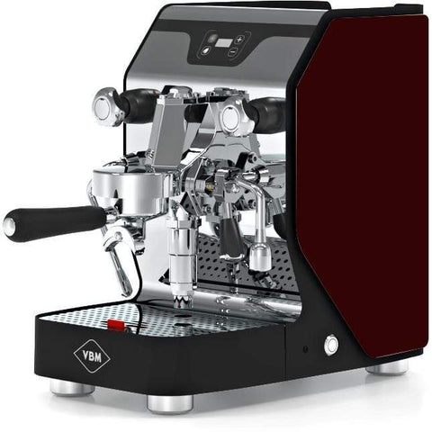 Image of VBM Espresso Machine Bordeaux-Left Panel VBM Domobar Junior Digital 1 Group Semi-Automatic Home Espresso Machine