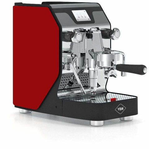VBM Espresso Machine Red-Right Panel VBM Domobar Super Analogic 1 Group Semi-Automatic Home Espresso Machine