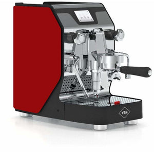 VBM Espresso Machine Red-Right Panel VBM Domobar Super Digital 1 Group Semi-Automatic Home Espresso Machine
