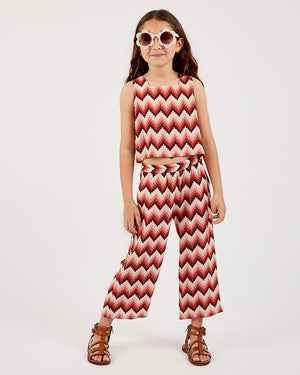 Girls Lylah Pant - Aztec