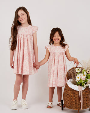 Load image into Gallery viewer, Girls Amielle Dress - Floral