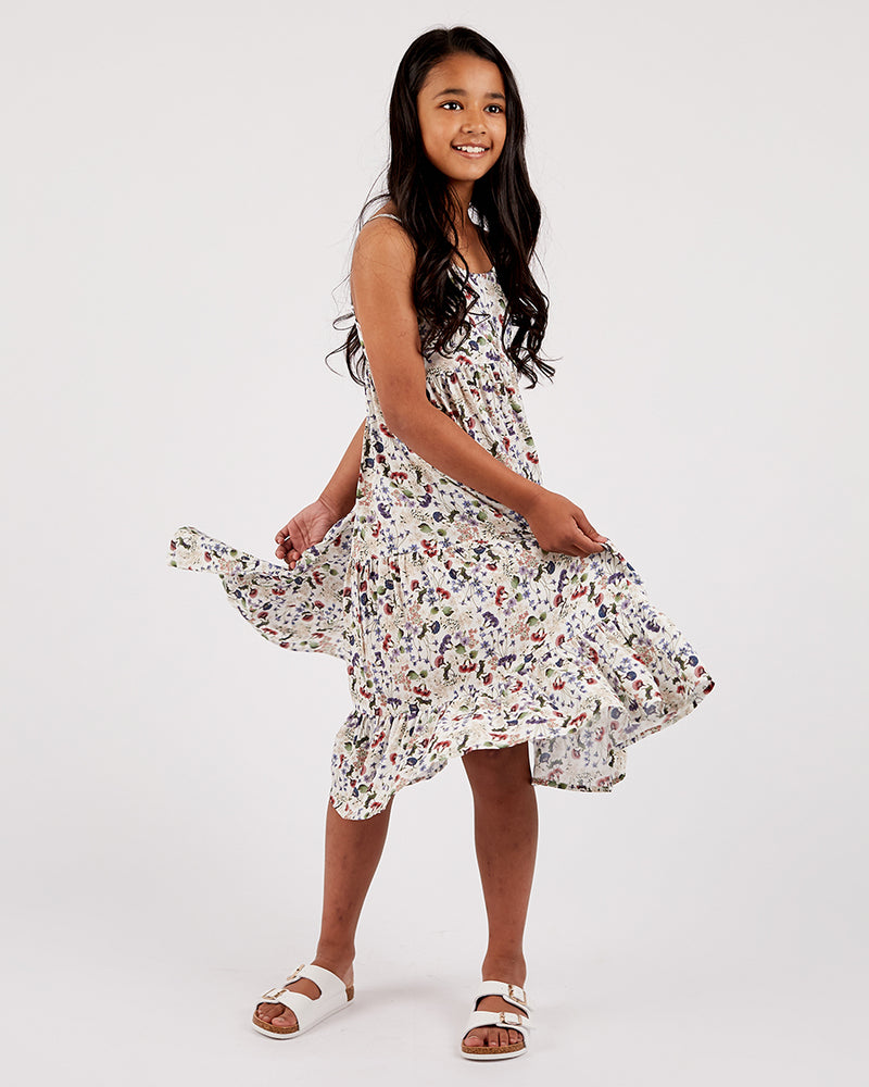 Girls Frankie Dress - Australian Wildflower