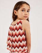 Girls Ella Top - Aztec