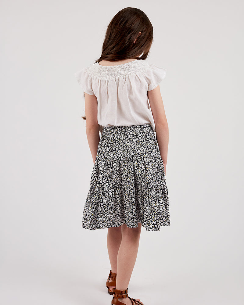 Girls Aurora Skirt - Daisy