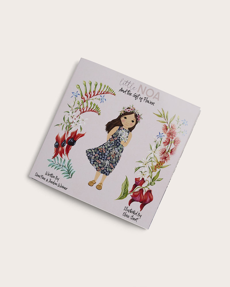 Little Noa and the Gift of Flowers Book