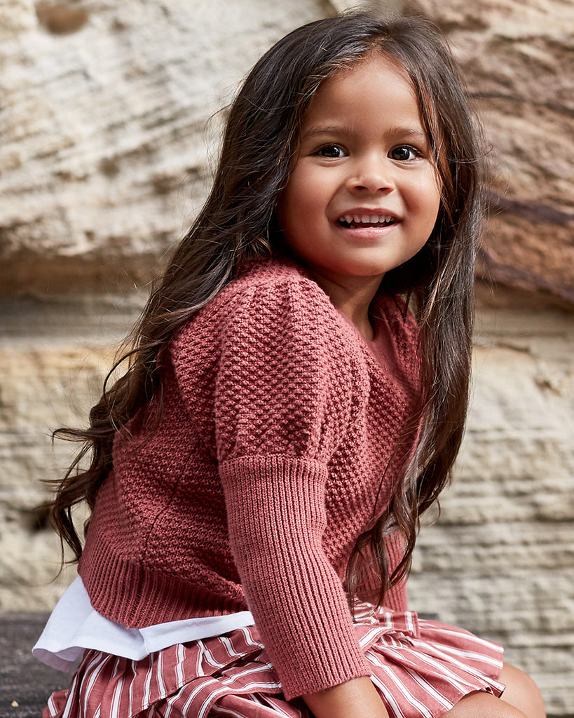 Girls Hazel Jumper - Desert