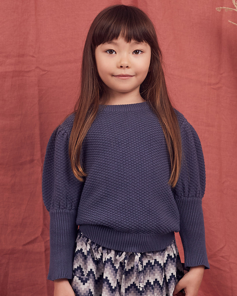 Girls Hazel Jumper - Indigo