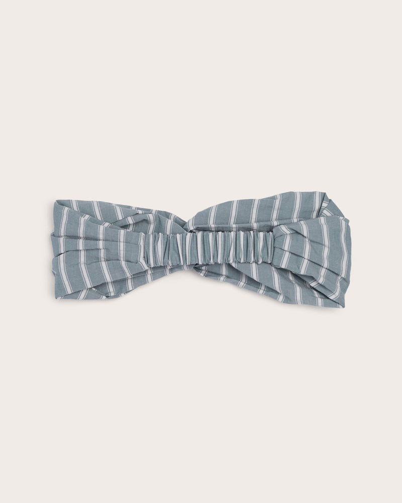 Girls Striped Headband - Sage