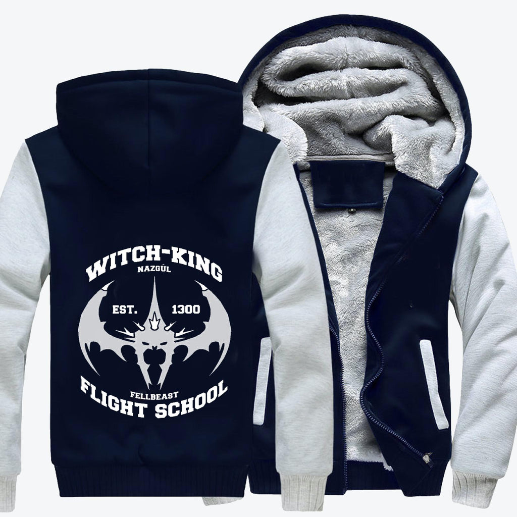 Witch King Nazgûl Flight School Fleece Jacket