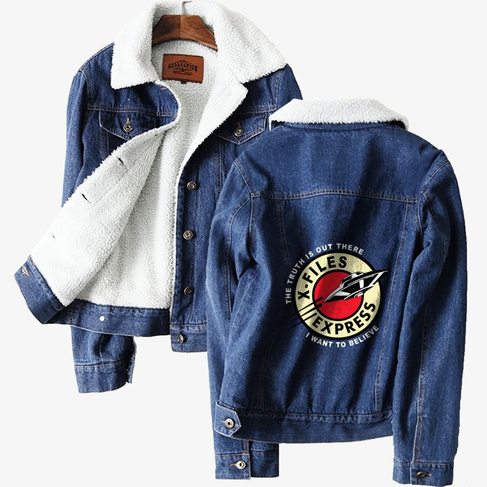 X Files Express Denim Jacket