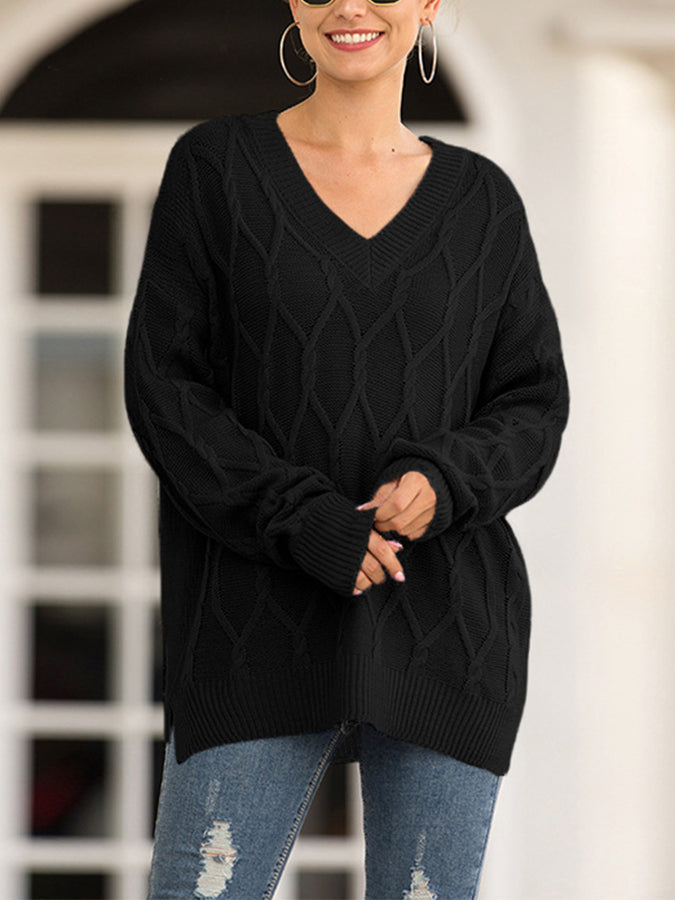 Normal Lässig Pullover
