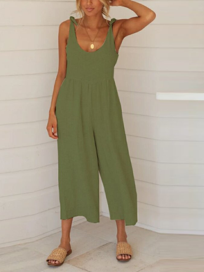 Unifarben Jumpsuit