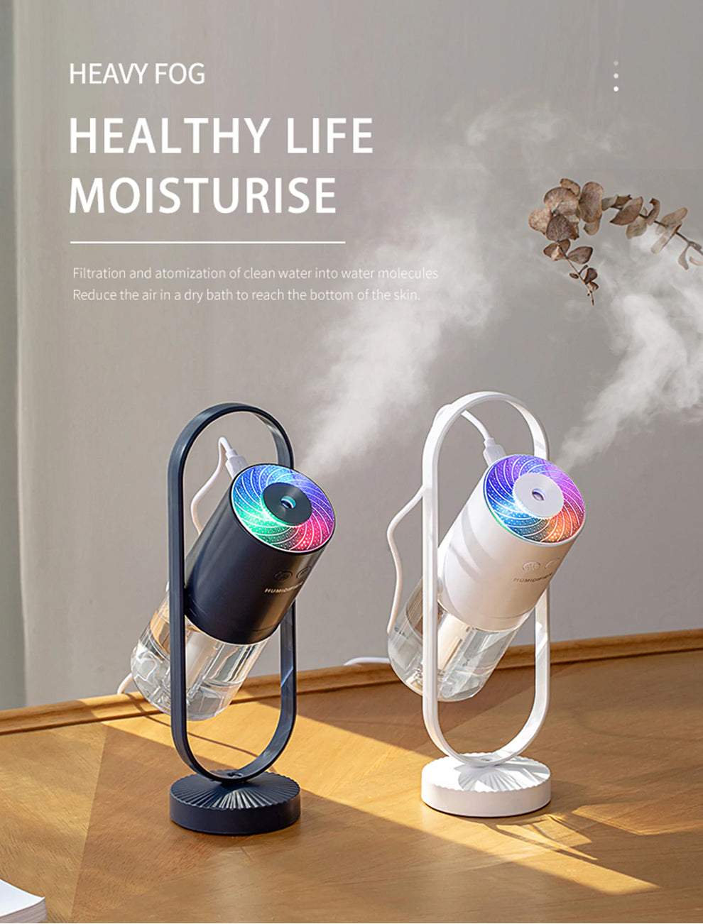 Humidifier Misting