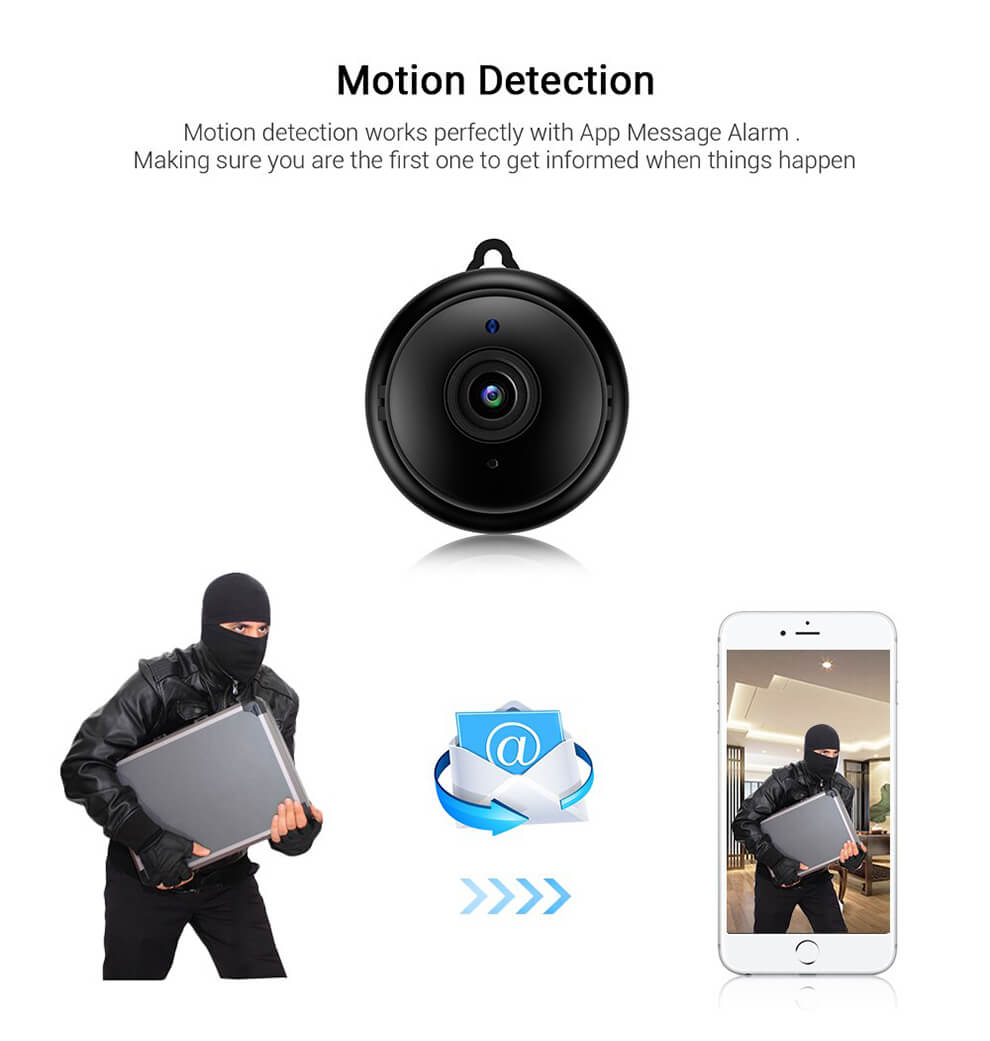 Mini Camera Motion Detection