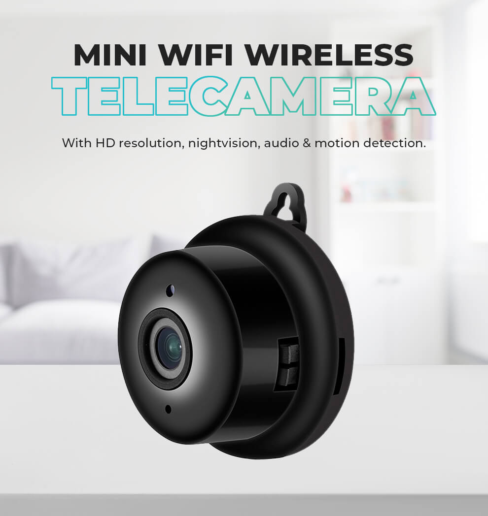 Mini WiFi Camera HD 1080P Wireless