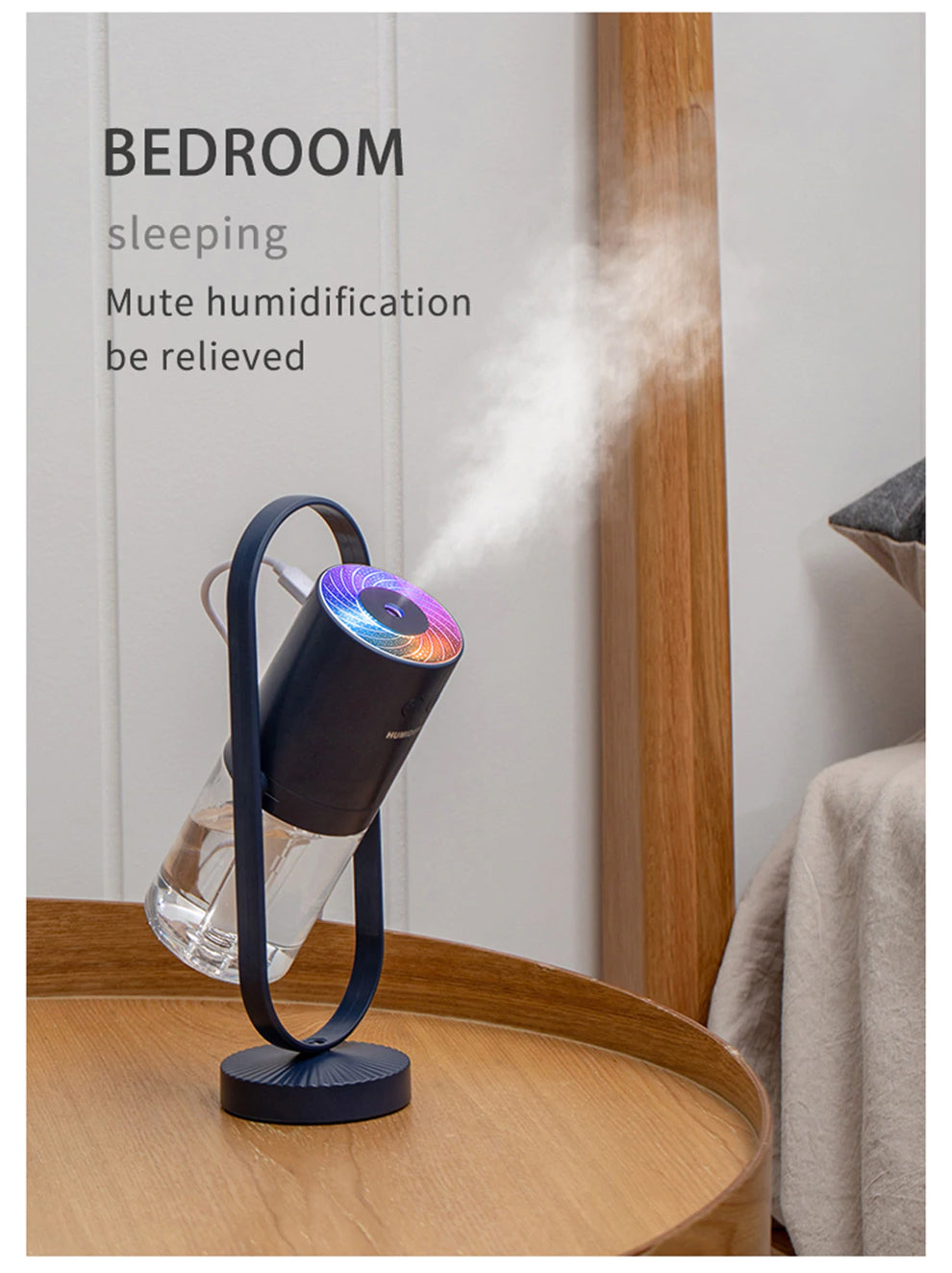 Relaxing-Bedroom-Navy-Blue-Humidifier