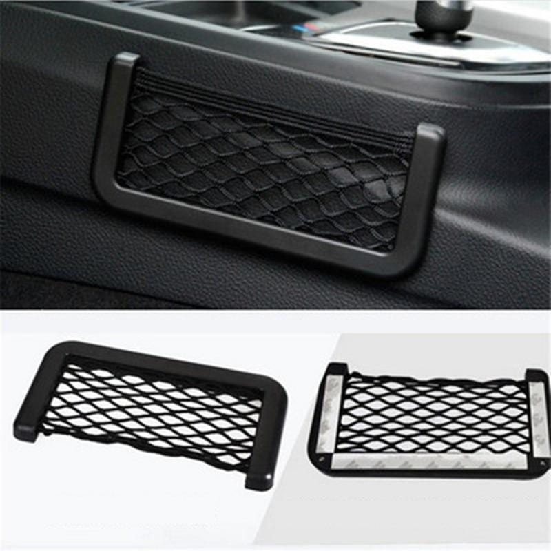 Universal Car Storage Bag Elastic Flexible Mesh