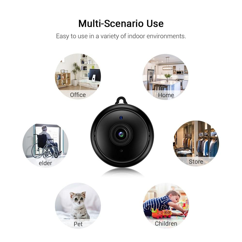 Mini Wifi IP  Wireless  Camera HD 1080P