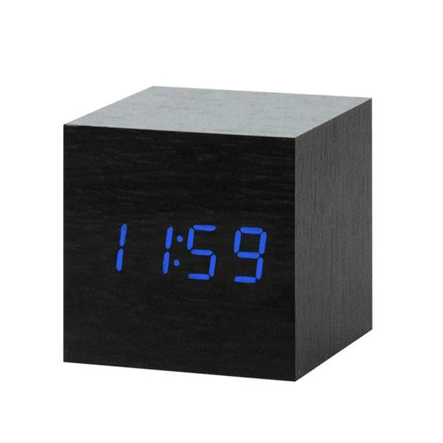 Oaktick-Digital Wooden Clock