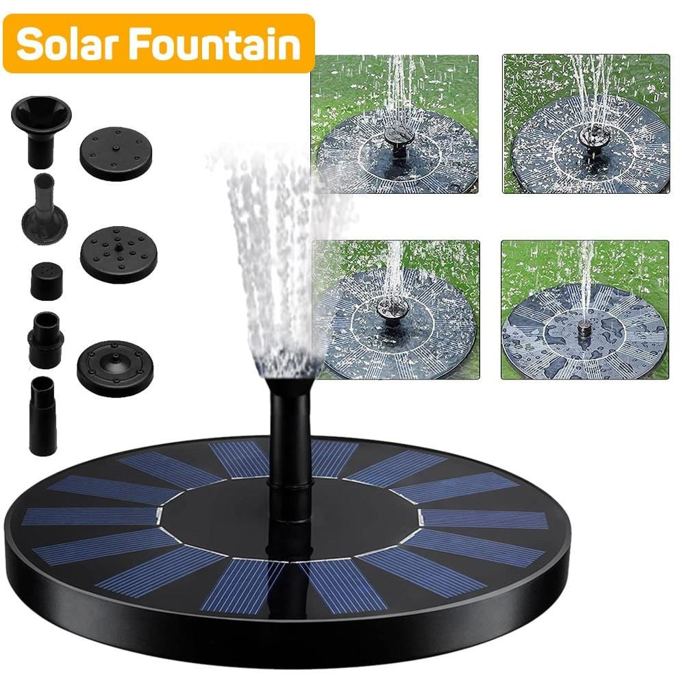 Smart Solar Water Fountain