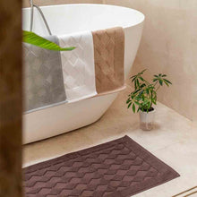 Load image into Gallery viewer, JEAN PERRY LEDIOR BATH MAT - DIAMOND DESIGN