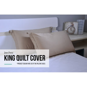 JEAN PERRY COLORIE BEDLINEN - KING QUILT COVER