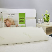 Load image into Gallery viewer, JEAN PERRY ALOE VERA MEMORY FOAM LONG SHAPE PILLOW