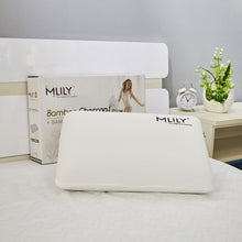 Load image into Gallery viewer, MLILY BAMBOO CHARCOAL FOAM PILLOW