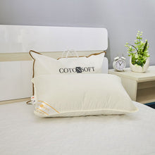 Load image into Gallery viewer, COTONSOFT NATURAL COTTON PILLOW