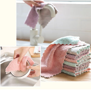 DIANA MICROFIBER 2-PLY KITCHEN TOWEL (3 PCS / PACK)