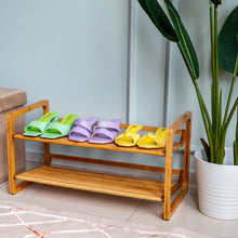 Load image into Gallery viewer, CASA STUDIO ECOWOOD BAMBOO COLLECTION - SHOE RACK