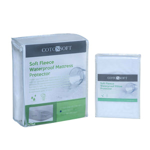 COTONSOFT  FLEECE Waterproof Mattress Protector- Fitted type (1pc)