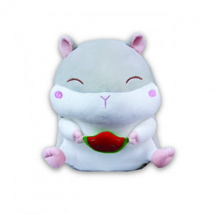 COTONSOFT SAFARI GARDEN CUSHION 65CM LARGE - HAMSTER