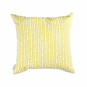 COTONSOFT RICHIE CUSHION- YELLOW