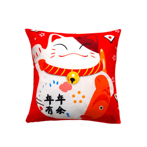 CottonSoft CNY MAO CUSHION - Red 1