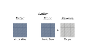 DIANA KENNELY COLLECTION - RAFFLES (ARCTIC BLUE)