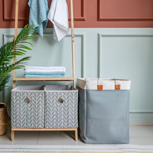 Load image into Gallery viewer, CASA STUDIO HELEN LAUNDRY BASKET