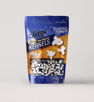 Load image into Gallery viewer, Bluegrass Cavern Organic Blue Kernels 24 oz package