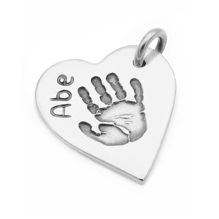 Hand & Footprint Pendant-Smallprint Franchising Ltd