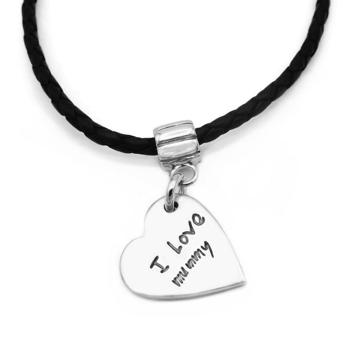 Handwriting Bracelet - Leather-Smallprint Franchising Ltd