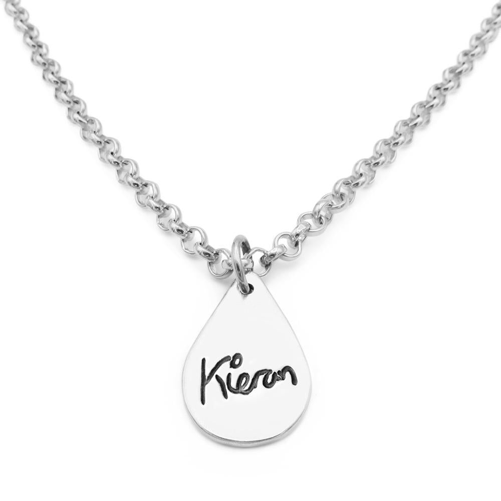 Handwriting Necklace - Belcher-Smallprint Franchising Ltd